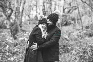 engaged couple portraits, photographer Tamworth, Staffordshire, outdoor couple portraits.