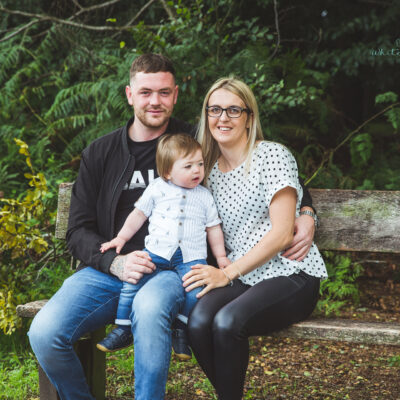 Staffordshire and Leicestershire Portrait Photographer // Family Portraits / Skye and Brad
