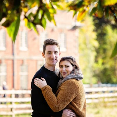 Staffordshire and Leicester Wedding Photographer // Engagement Photography Portraits / Jesse and Laura
