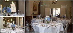 Lichfield, Staffordshire wedding photographer, wedding venue decor and wedding favour