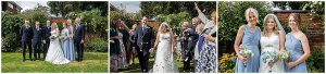 Lichfield, Staffordshire wedding photographer, wedding breakfast and group shots