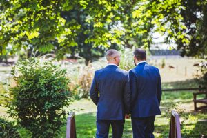 Coventry wedding photographer, wedding day at Nailcote Hall in Coventry, Gay wedding.