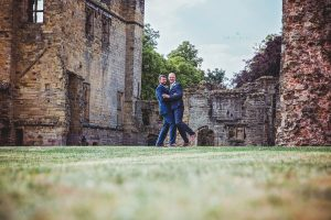 Tamworth, Staffordshire wedding photographer, couple portraits at Ashby Castle, fun photos be silly.