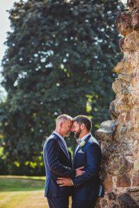 Tamworth, Staffordshire wedding photographer, groom portraits at Ashby Castle